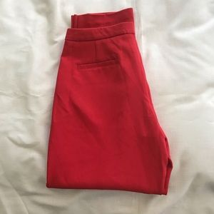 Black Swan Pants - NWT Hight Waist Black Swan Trousers ✨ size 6. Red!